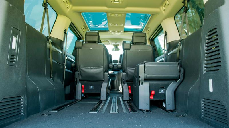 So sánh khác biệt giữa Peugeot Traveller bản 7 chỗ và 4+2 chỗ ngồi - Ảnh 12
