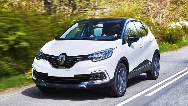 Facelifted Renault Captur giá bán £ 15.355