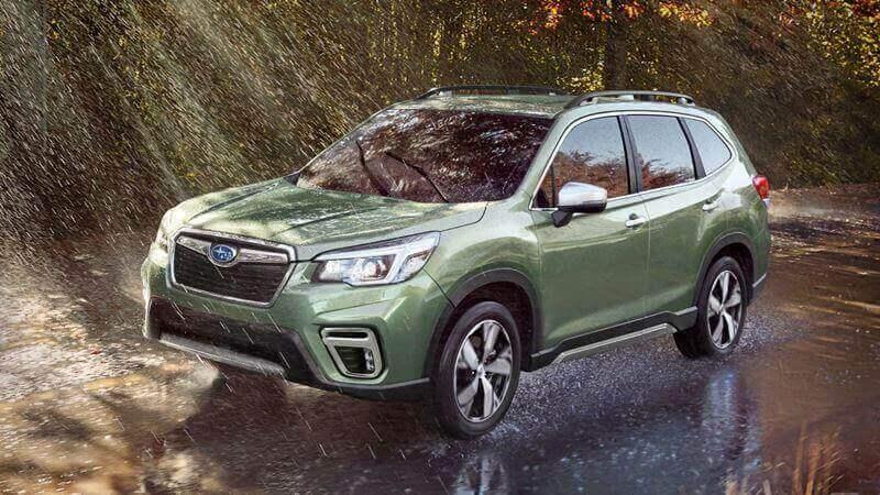Subaru Forester 2019 tiếp tục được