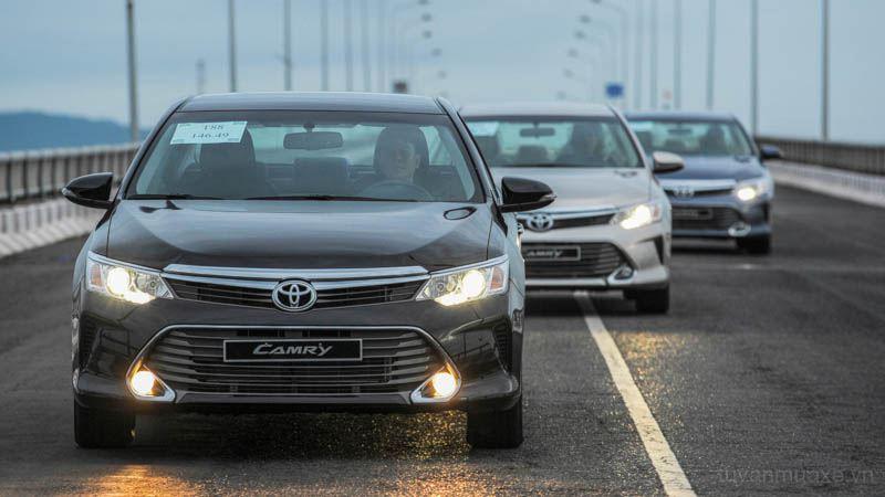 Bảng giá bán các dòng xe Toyota tại Việt Nam cập nhật 1/7/2016 - Ảnh 3