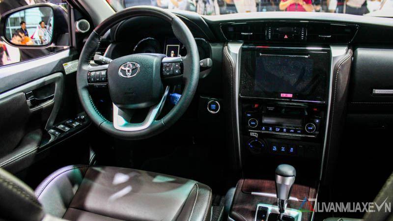 Hình ảnh chi tiết Toyota Fortuner 2017 tại Việt Nam - Ảnh 6