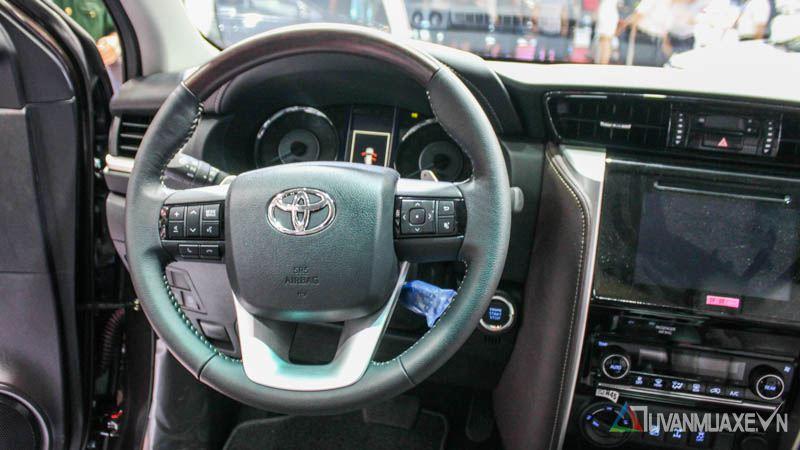 Những điểm nổi bật trên Toyota Fortuner 2017 tại Việt Nam - Ảnh 4