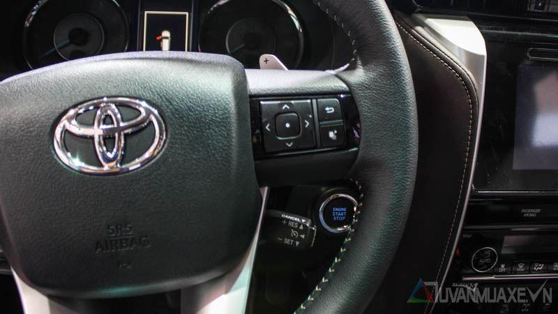Hình ảnh chi tiết Toyota Fortuner 2017 tại Việt Nam - Ảnh 12
