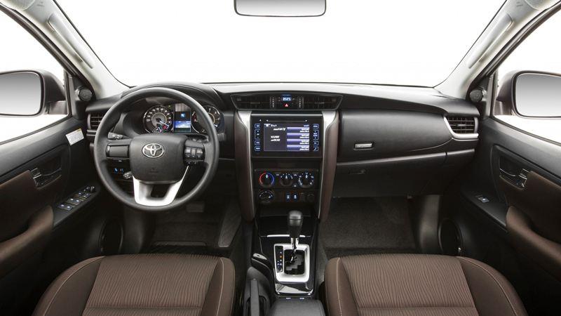 So sánh xe Hyundai SantaFe và Toyota Fortuner 2017 - Ảnh 9