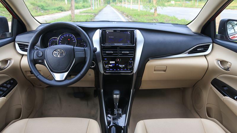 So sánh xe KIA Soluto 2019 và Toyota Vios 2019 - Ảnh 9