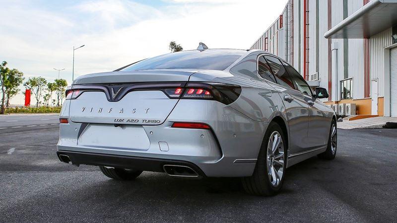 Chi tiết xe sedan VinFast LUX A2.0 phiên bản tiêu chuẩn - Ảnh 4