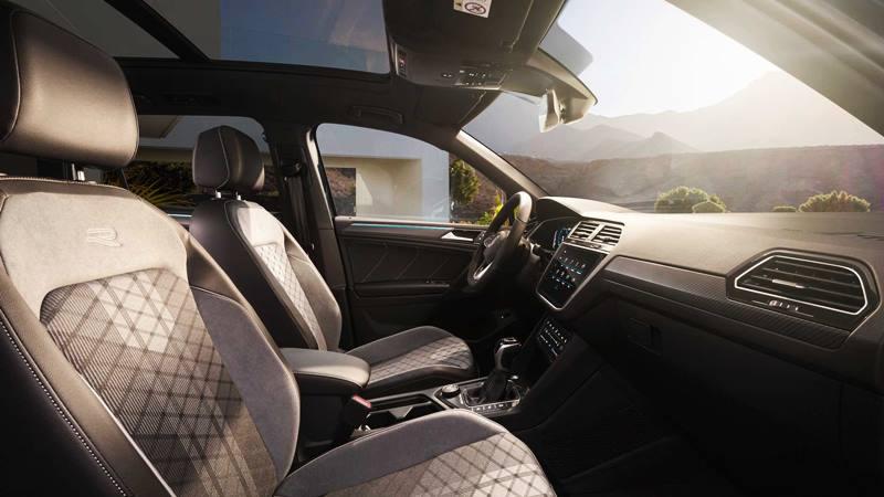Xe 7 chỗ Volkswagen Tiguan 2021 mới nâng cấp thiết kế và công nghệ - Ảnh 7