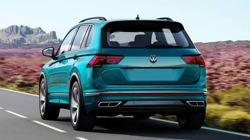Xe 7 chỗ Volkswagen Tiguan 2021 mới nâng cấp thiết kế và công nghệ - Ảnh 9
