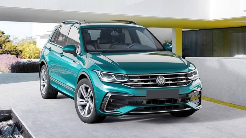 Xe 7 chỗ Volkswagen Tiguan 2021 mới nâng cấp thiết kế và công nghệ - Ảnh 1