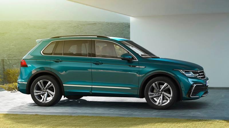 Xe 7 chỗ Volkswagen Tiguan 2021 mới nâng cấp thiết kế và công nghệ - Ảnh 8