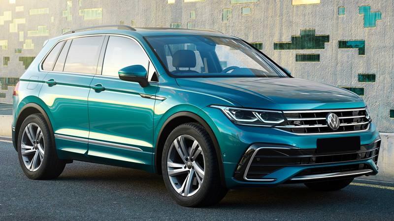 Xe 7 chỗ Volkswagen Tiguan 2021 mới nâng cấp thiết kế và công nghệ - Ảnh 2