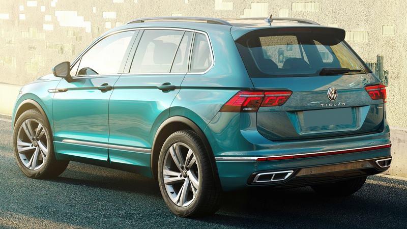 Xe 7 chỗ Volkswagen Tiguan 2021 mới nâng cấp thiết kế và công nghệ - Ảnh 3
