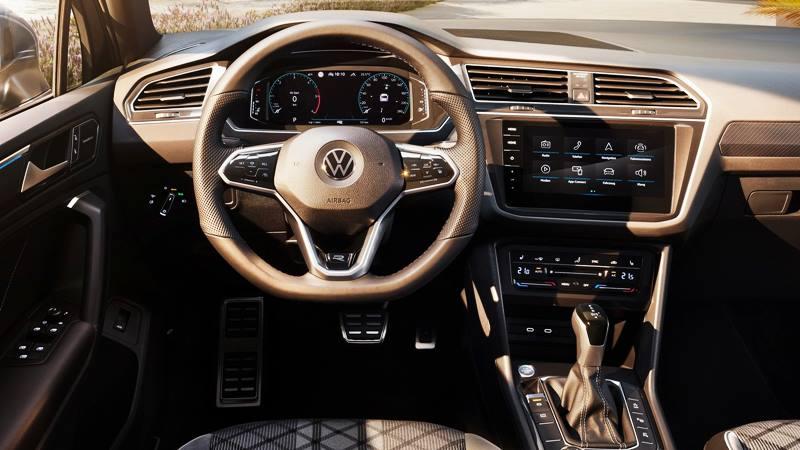 Xe 7 chỗ Volkswagen Tiguan 2021 mới nâng cấp thiết kế và công nghệ - Ảnh 4