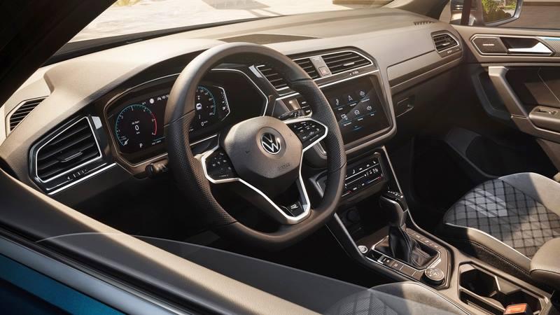 Xe 7 chỗ Volkswagen Tiguan 2021 mới nâng cấp thiết kế và công nghệ - Ảnh 5