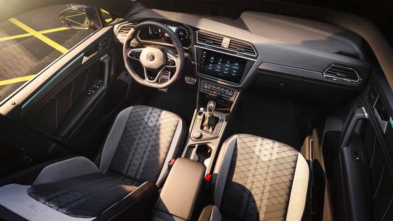Xe 7 chỗ Volkswagen Tiguan 2021 mới nâng cấp thiết kế và công nghệ - Ảnh 6