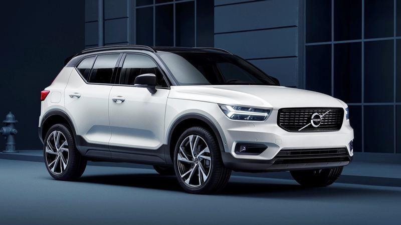 Volvo XC40 2018 với dáng xe hoàn toàn mới