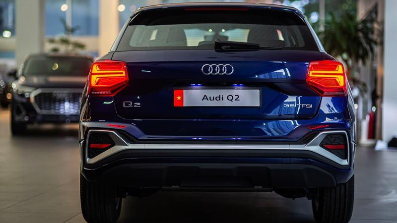 Audi Q2 2021 mới bán tại Việt Nam - Ảnh 4