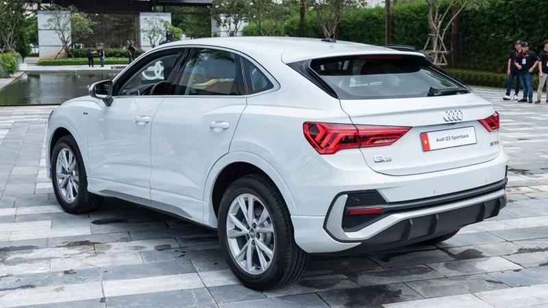 SUV thể thao Audi Q3 Sportback 2021 có giá hơn 2 tỷ tại Việt Nam - Ảnh 8
