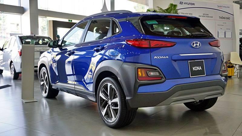 Bảng giá và trả góp tối thiểu khi mua xe Hyundai KONA tháng 10 - Ảnh 4