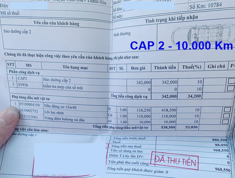 Chi phí bảo dưỡng định kỳ xe Hyundai Accent theo các mốc KM - Ảnh 5