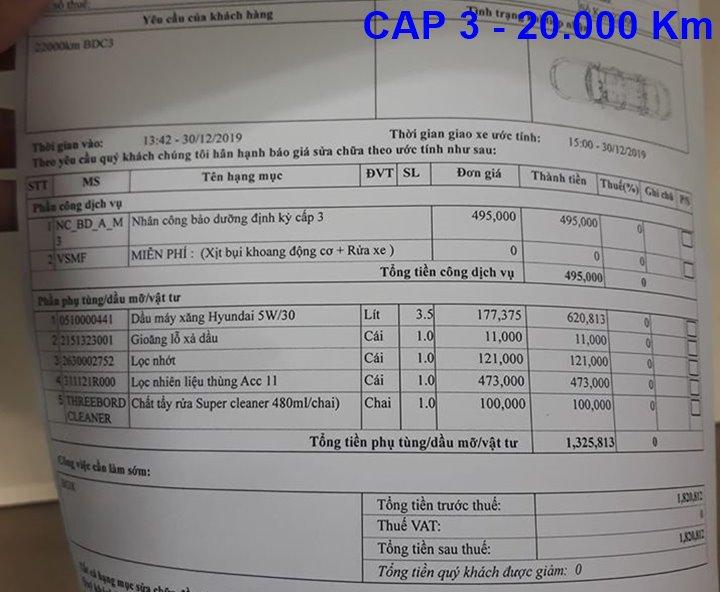 Chi phí bảo dưỡng định kỳ xe Hyundai Grand i10 tại Việt Nam - Ảnh 5