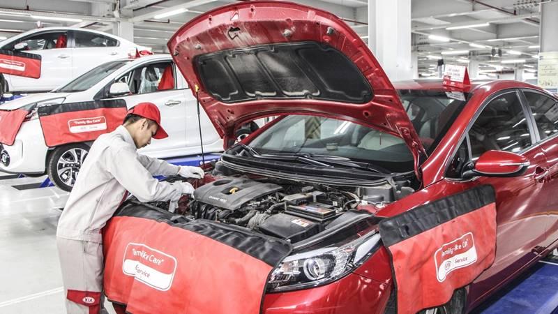 Chi phí bảo dưỡng định kỳ xe KIA Cerato theo các mốc KM - Ảnh 3