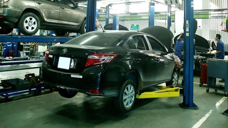 Chi phí bảo dưỡng định kỳ xe Toyota Vios theo các mốc KM - Ảnh 1