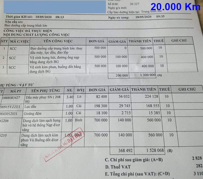 Chi phí bảo dưỡng định kỳ xe Toyota Vios theo các mốc KM - Ảnh 8
