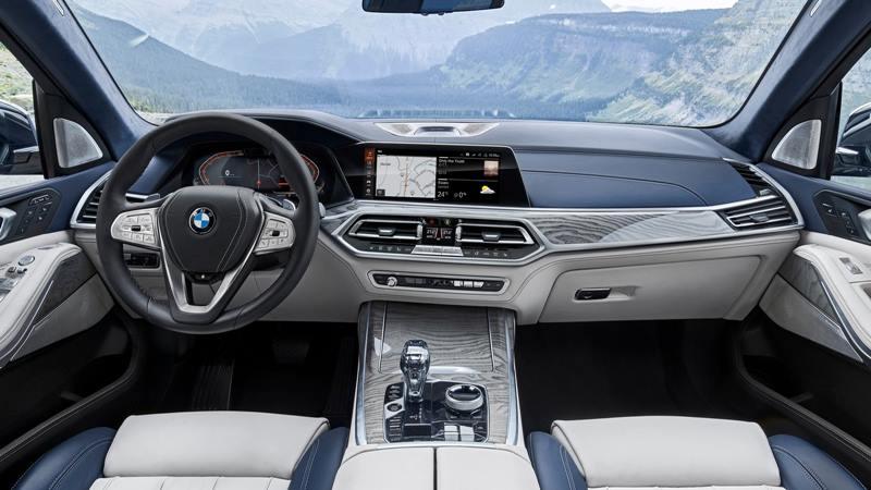 SUV 7 chỗ BMW X7 2019 hoàn toàn mới - đối thủ Mercedes GLS - Ảnh 4
