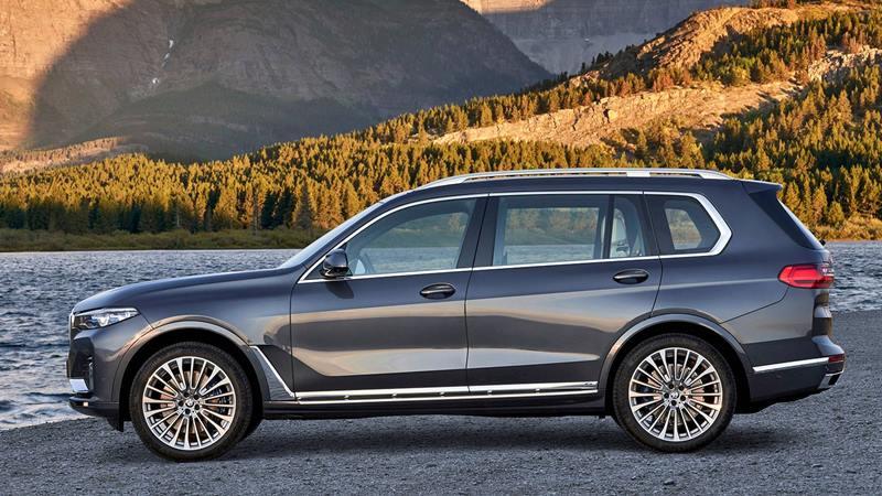 SUV 7 chỗ BMW X7 2019 hoàn toàn mới - đối thủ Mercedes GLS - Ảnh 10