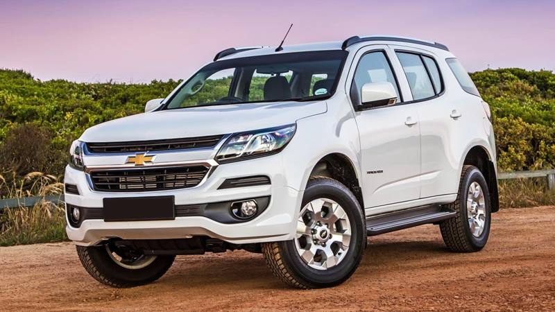 Thông số kỹ thuật xe Chevrolet Trailblazer 2018-2019 tại Việt Nam - Ảnh 2