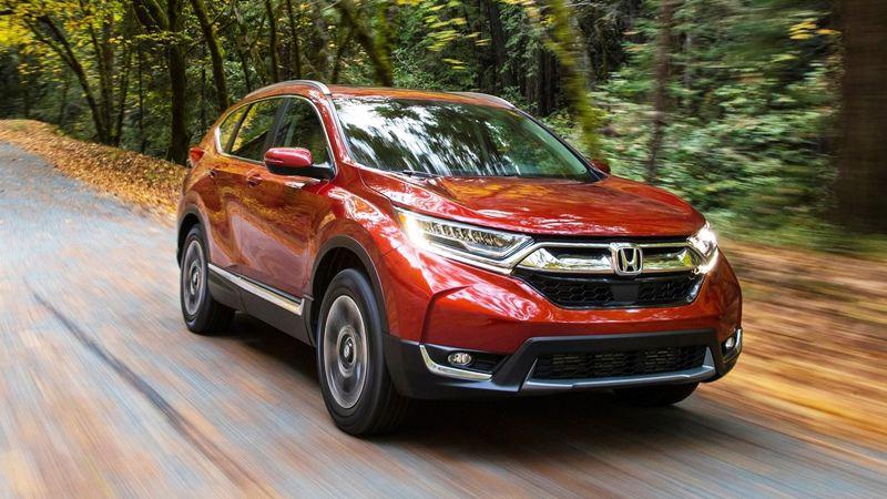 Hình ảnh chi tiết Honda CR-V 2018 hoàn toàn mới - Ảnh 1