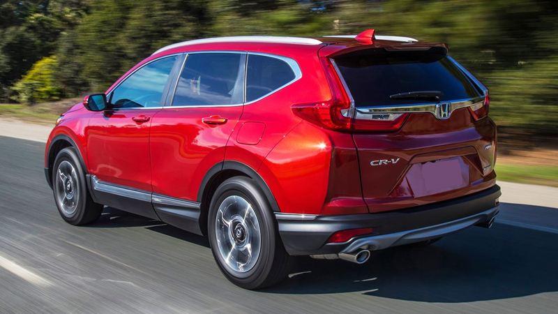 Hình ảnh chi tiết Honda CR-V 2018 hoàn toàn mới - Ảnh 9