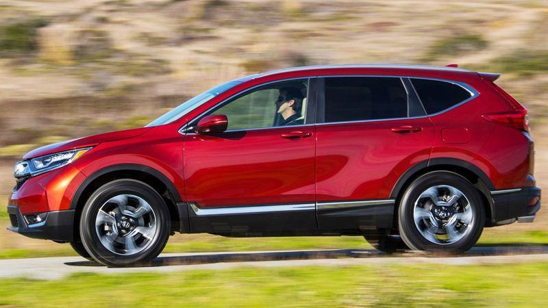 Hình ảnh chi tiết Honda CR-V 2018 hoàn toàn mới - Ảnh 8