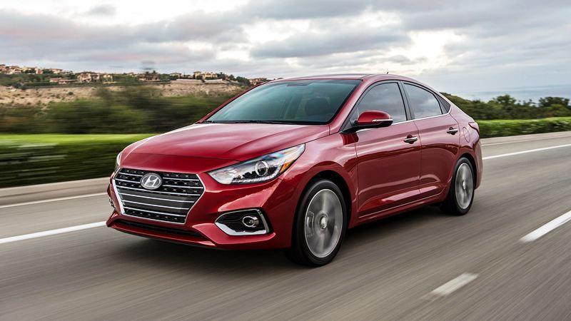 Hình ảnh chi tiết Hyundai Accent 2018 thế hệ mới - Ảnh 1
