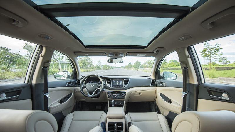 Thông số kỹ thuật xe Hyundai Tucson 2018 lắp ráp tại Việt Nam - Ảnh 9