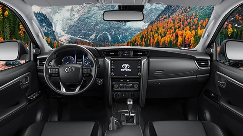Chi tiết xe Toyota Fortuner Máy Xăng 2021 mới tại Việt Nam - Ảnh 4