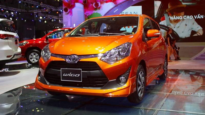 Thông số kỹ thuật xe Toyota Wigo 2018 tại Việt Nam - Ảnh 2