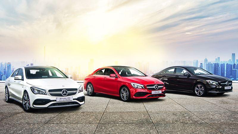 Giá xe Mercedes-Benz CLA-Class 2018 - Hình 1