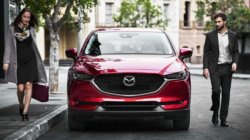 Mazda CX-5 - hé mở cửa trước mở
