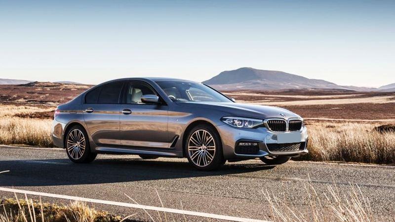 Chi tiết BMW 5-Series 2018 phiên bản G30 520d máy dầu - Ảnh 2