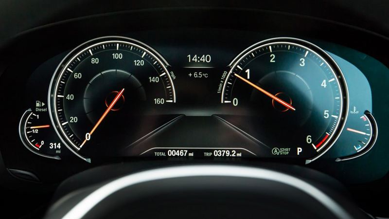 Chi tiết BMW 5-Series 2018 phiên bản G30 520d máy dầu - Ảnh 13