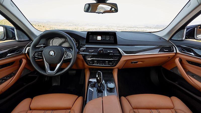 Chi tiết BMW 5-Series 2018 phiên bản G30 520d máy dầu - Ảnh 14