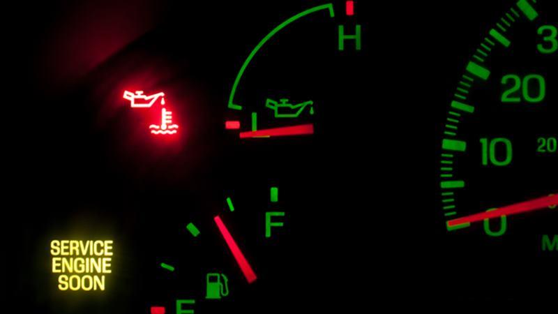 Đèn cảnh báo nguy hiểm động cơ xe ô tô - nguyên nhân và xử lý - Ảnh 1