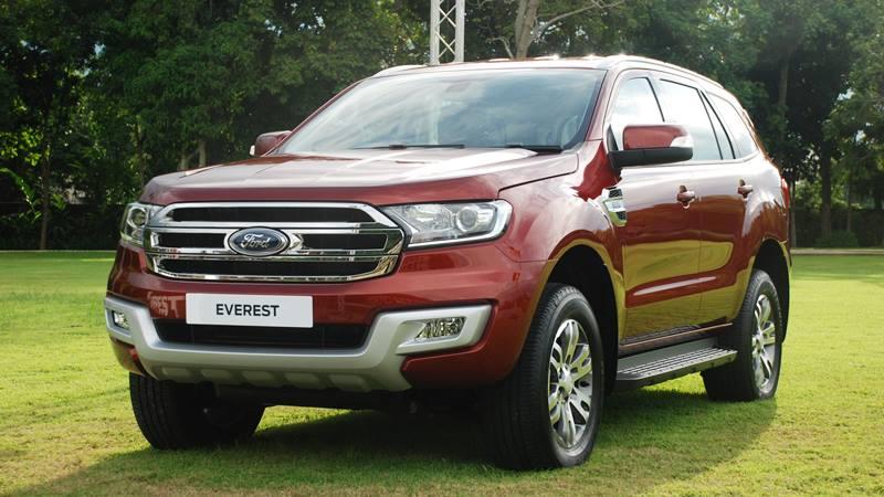 Ford Everest 2018 phiên bản nâng cấp
