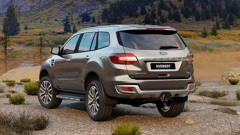 Ford Everest 2020 mới nâng cấp bán tại Việt Nam - Ảnh 3