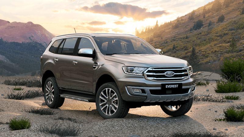 Giá xe Ford Everest 2020 mới nâng cấp tại Việt Nam từ 999 triệu đồng - Ảnh 1