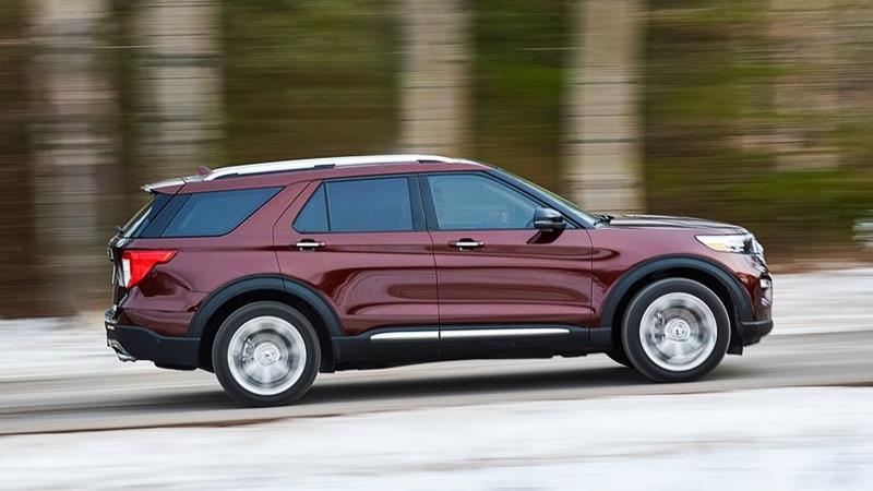 Ford Explorer 2020 thế hệ mới chính thức ra mắt - Ảnh 9