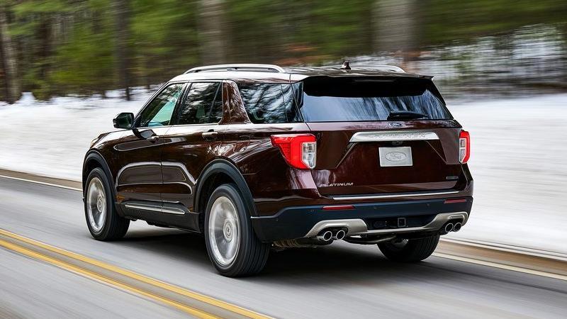 Ford Explorer 2020 thế hệ mới chính thức ra mắt - Ảnh 4
