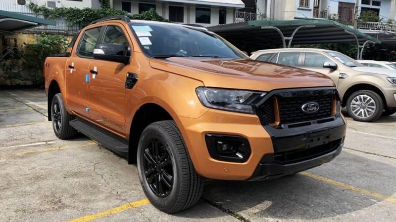Giá xe Ford Ranger 2021 mới tại Việt Nam từ 616 triệu đồng - Ảnh 1